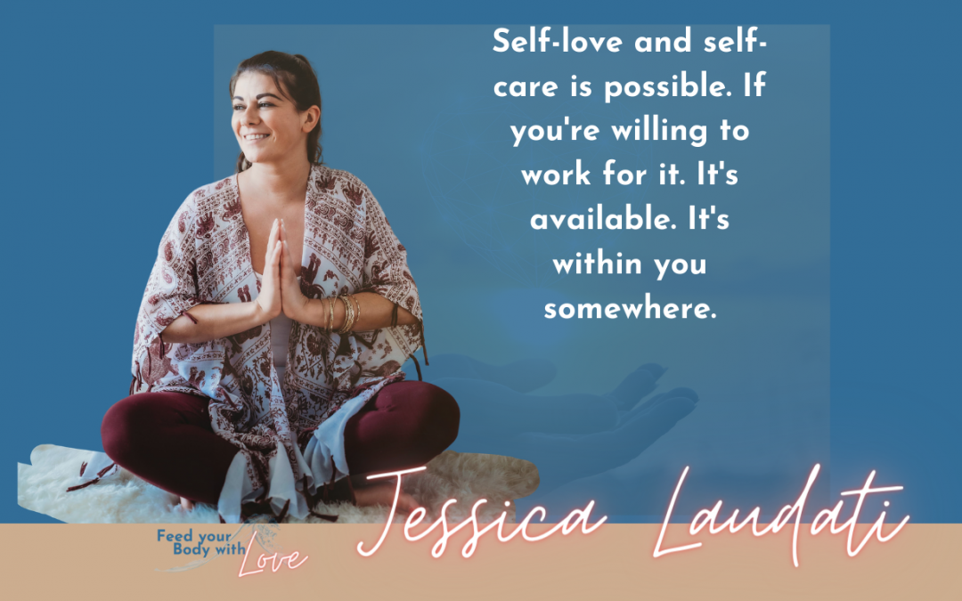 Finding awareness in the present moment with Jessica Laudati