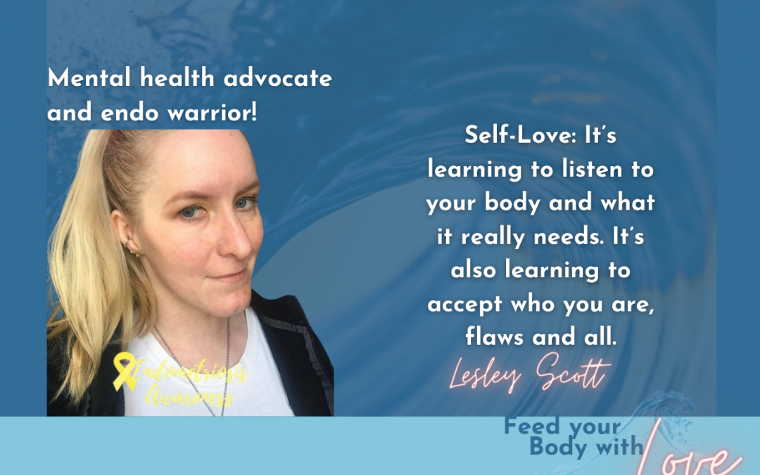 Mental Health, Endometriosis, and the GLAD Technique with Lesley Scott